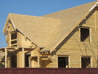 обрешетка крыши из OSB