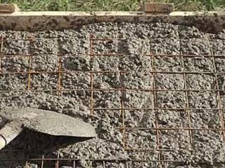 использование портландцемента при изготовлении бетонного основания